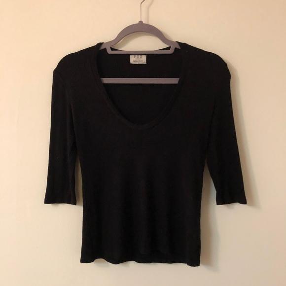 Project Social T Tops - Black shirt